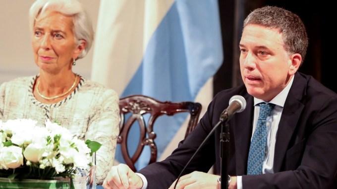 Resultado de imagen para Lagarde y Dujovne acuerdo FMI Clarín