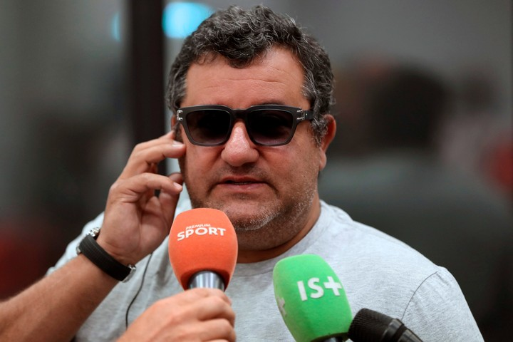 Mino Raiola, the Haaland representative who is offering it to the highest bidder.