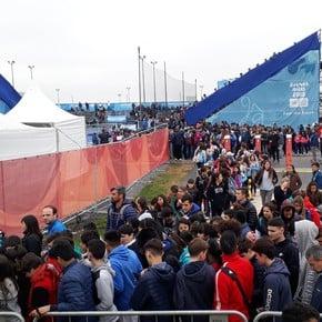 Furor por los Juegos Olímpicos de la Juventud: ya no hay pases para ver las competencias