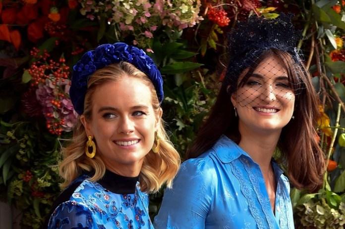 La actriz y modelo Cressida Bonas (izquierda). (AFP)