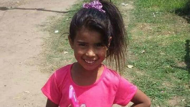 Sheila Ayala, la nena asesinada en San Miguel.