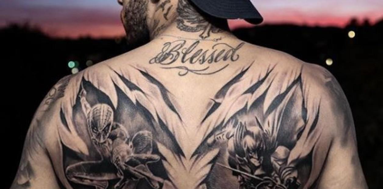 Qué Tatuajes Se Hizo Neymar Mientras Jugaba Al Póker Con Sus Amigos