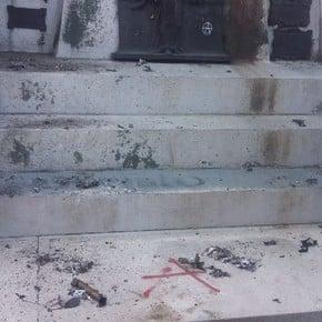 Estalló un explosivo casero en el Cementerio de Recoleta: hay una mujer herida de gravedad