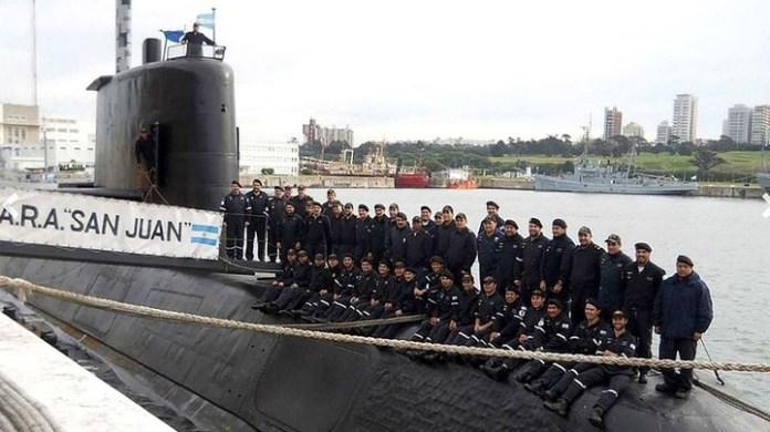 Fotos históricas del submarino San Juan y sus 44 héroes.