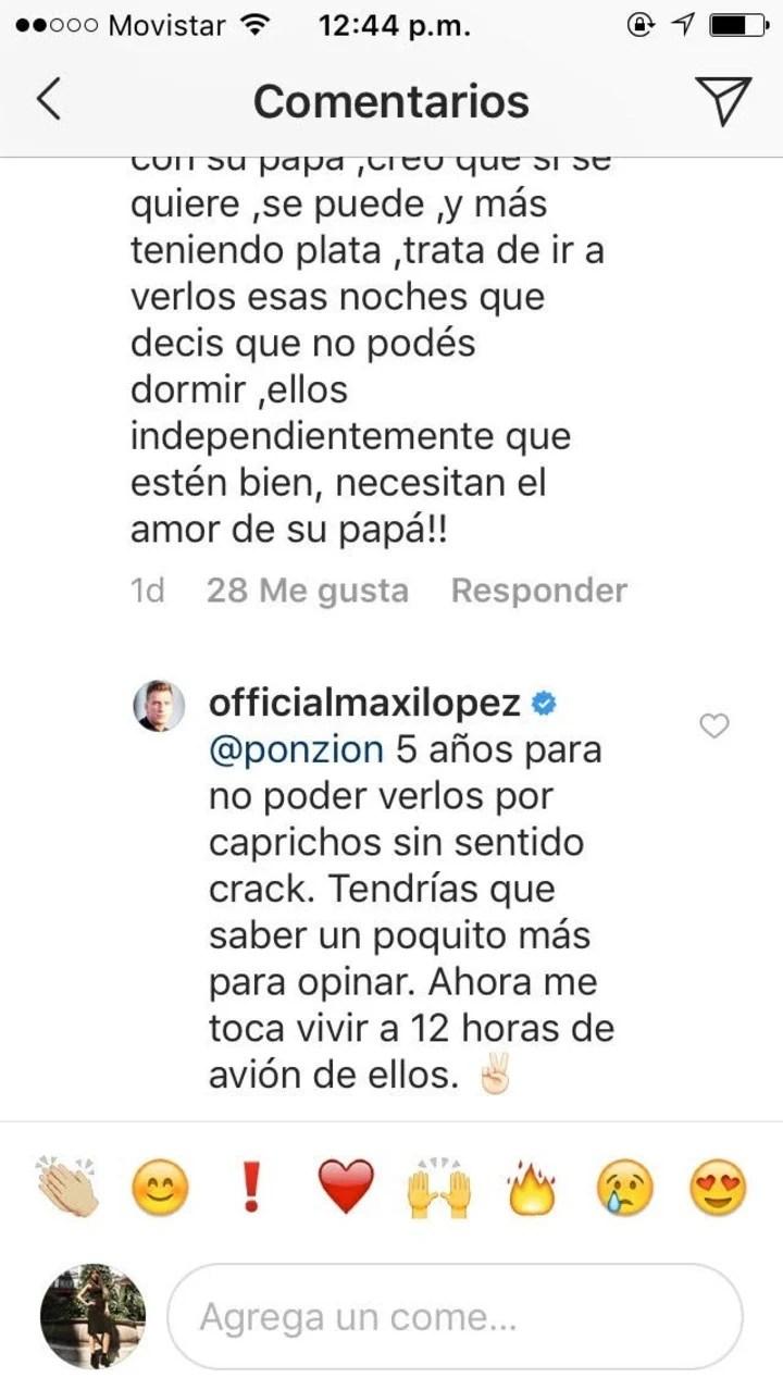 El futbolista despotricó contra su ex. (Instagram)