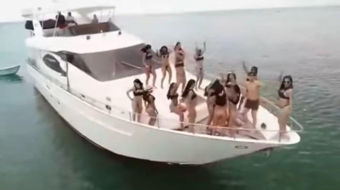 El crucero garantiza dos mujeres por cada hombre, durante los tres días.