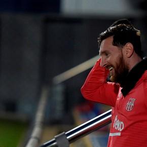 Messi recibió una alegría de los hinchas: lo eligieron en el equipo ideal de la UEFA