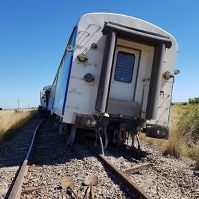 Tren a Mar del Plata: descarrilaron tres vagones y el servicio quedó suspendido