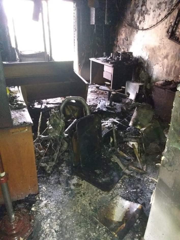 El fuego arrasó con miles de causas judiciales que solo tenían su versión en papel.