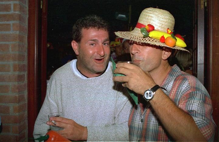 Una imagen de José Luis Cabezas pocas horas antes de su asesinato, ocurrido en Pinamar el 25 de enero de 1997.