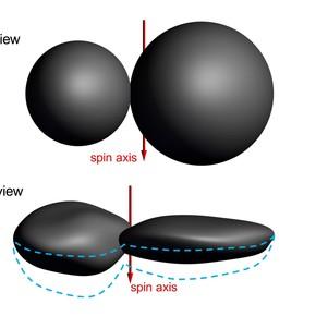 """""""Un panqueque con una nuez"""": descubren que un objeto del Sistema Solar tiene una rarísima forma plana"""
