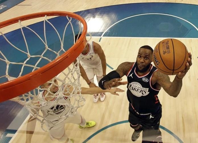 LeBron James ganó el MVP del All Star Game en 2006, 2008 y 2018. Foto: Reuters