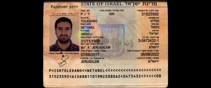 Iranies con pasaporte de israel