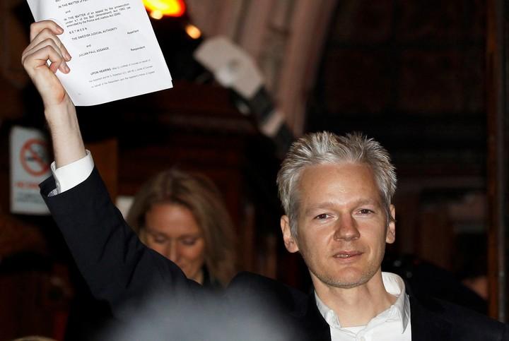 Julián Assange en una imagen de 2010. / AP