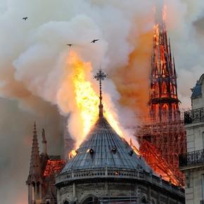 Cómo era la obra de restauración que se realizaba en la catedral de Notre Dame