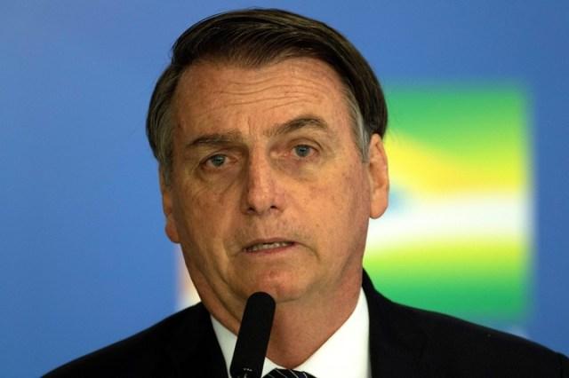 El presidente brasileño, Jair Bolsonaro./EFE