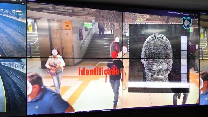 Así funciona el sistema de reconocimiento facial en la Ciudad.
