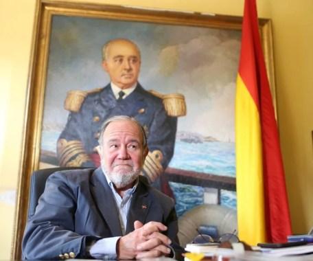 Juan Chicharro, presidente de la Fundacion Nacional Francisco Franco./ Cézaro De Luca