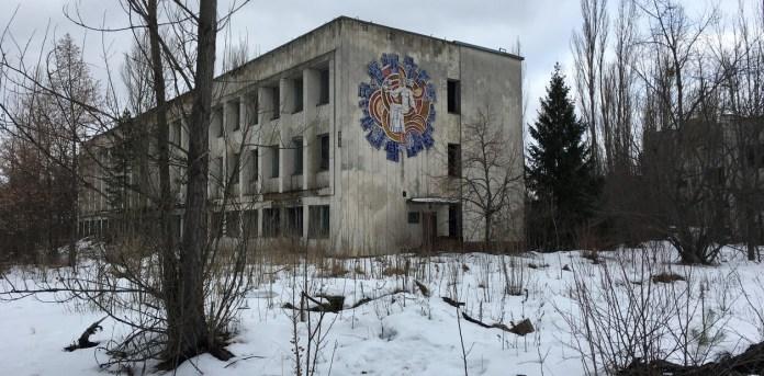 Se liberaron a la atmósfera nubes de partículas altamente radiactivas durante un ensayo de rutina de interrupción de operaciones en la planta situada al norte de Kiev, en lo que era la Unión Soviética y ahora es Ucrania.  /  Fotos Pablo Salvatori