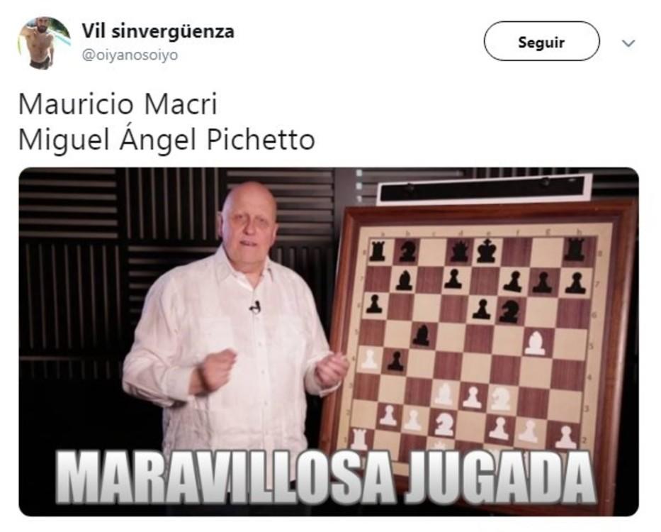 Resultado de imagen para macri pichetto memes