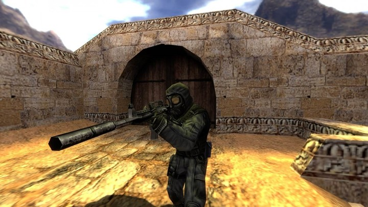 Counter Strike, a classic from 2000: it was all the rage in cybers in Argentina and in the world.  Photo Valve