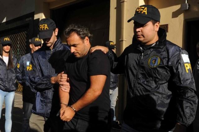 El secretario de la expresidenta Isidro Bounine, detenido. Foto Emmanuel Fernández
