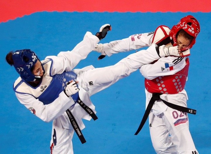 Taekwondo Fernanda Aguirre was the first casualty due to coronavirus in Tokyo 2020. Photo Susana Vera / Reuters