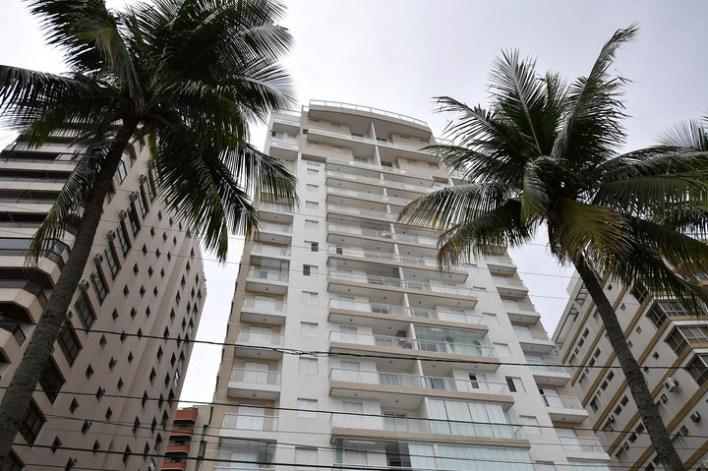 El triplex en Guarujá. / AFP