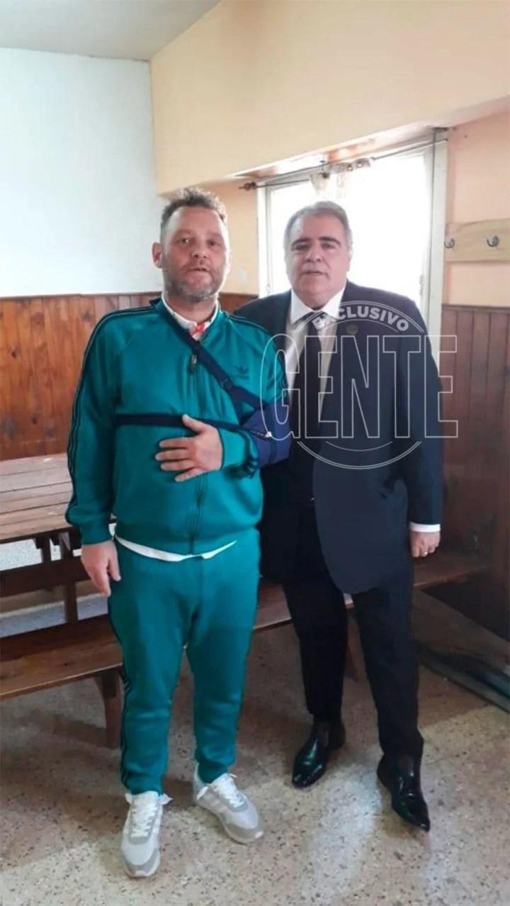 El Pepo se encuentra detenido en la Comisaría 1ra de Chascomús (Foto: Revista Gente).