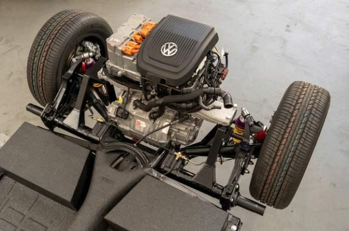 El Volkswagen Escarabajo eléctrico