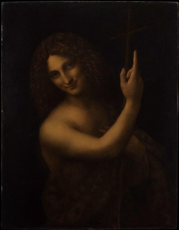 """San Juan Bautista"" (1513) © RMN-Grand Palais (musée du Louvre)_Michel Urtado"