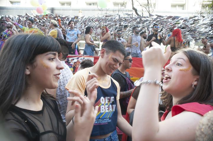 La nueva Marcha del Orgullo LGBT en Buenos Aires. (Foto: Rolando Andrade Stracuzzi)