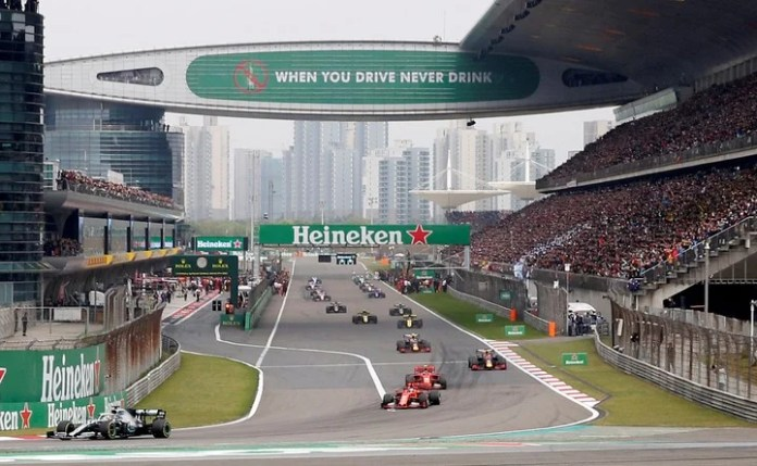 The Shanghai Grand Prix was suspended in April due to the pandemic. F1 expected to hold two dates there in October. Photo: Reuters