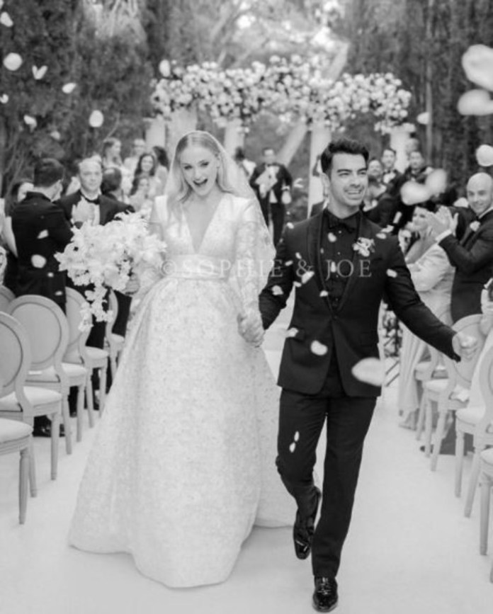 In France, Sophie and Joe had their second ceremony of marriage in 2019.