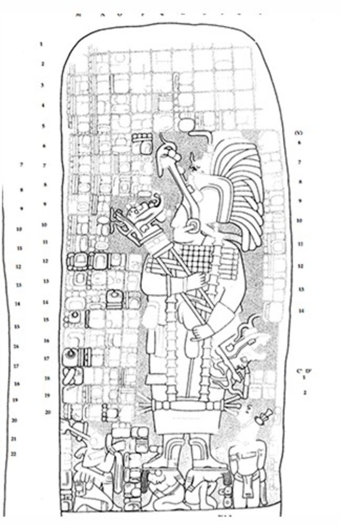 The route was built by K'awiil Ajaw, a warrior queen from the Mayan city of Cobá, around 680 BC.  C.