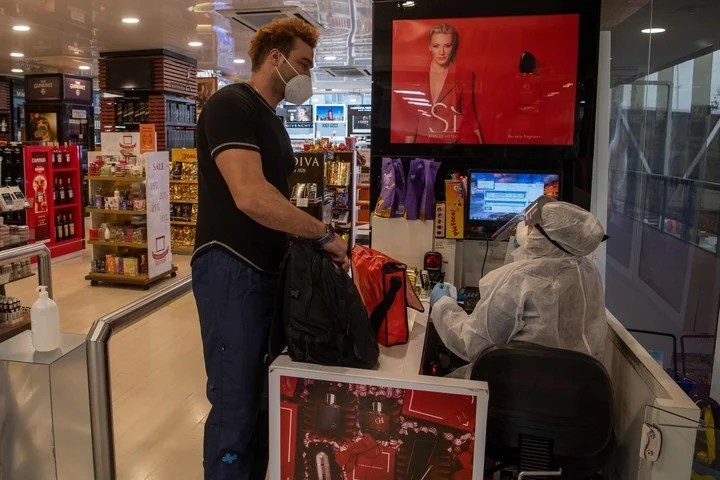 Duty Free, the heart of the Feeney emporium.  Photo: AFP