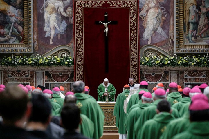 Pope Francis led a historic summit of bishops in February 2019 on the sexual abuse scandals in the Church.  Photo: AP