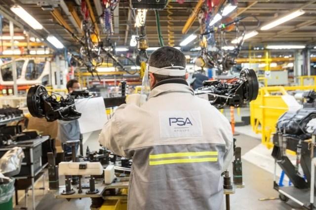 El interior de la fábrica de El Palomar