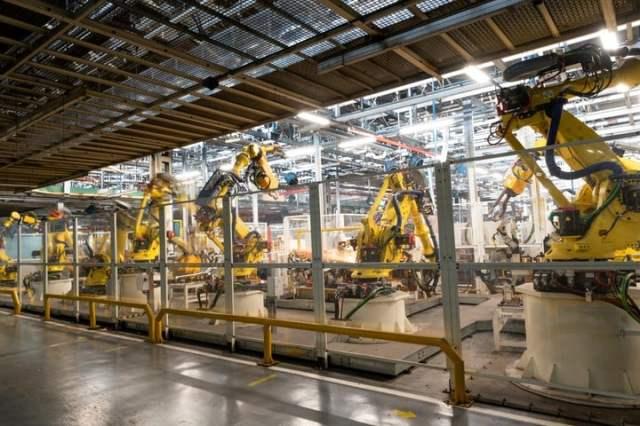 La nueva línea de producción, preparada tanto para vehículos con motor a combustión como eléctricos.