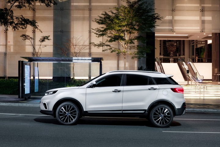 Ford Territory.  Financing of up to $ 1,300,000 for the new midsize SUV arriving from China.