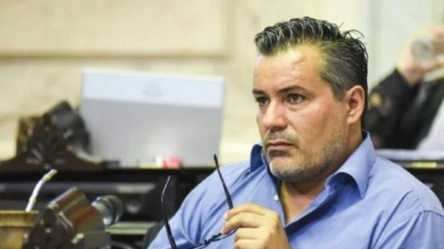 Juan Emilio Ameri en la Cámara de Diputados.