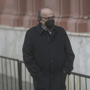 Leopoldo Moreau came out to pressure two chambermaids who have to decide on the case of the alleged macrista espionage