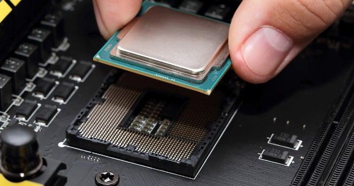 """El """"socket"""" donde va el microprocesador: distintas partes de la placa madre. Foto Shutterstock"""