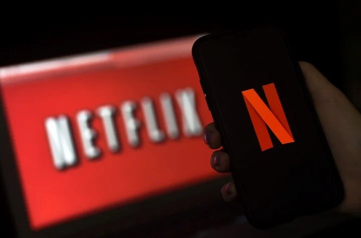 Netflix, another of the applications that rely on constant novelty.  AFP