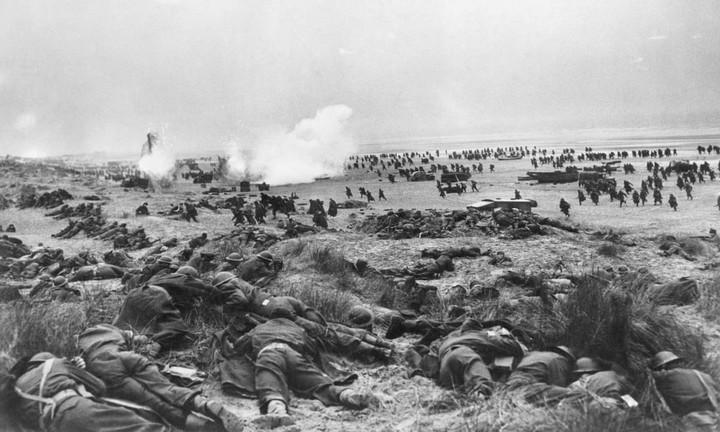 The Dunkirk Evacuation.
