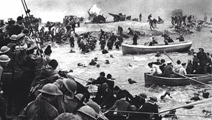 Operation Dinamo on the French beaches.