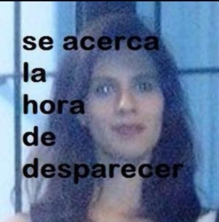 Una de las capturas que hicieron de las amenazas en las redes sociales de Mauricio Parada Parejas contra Paola Tacacho.