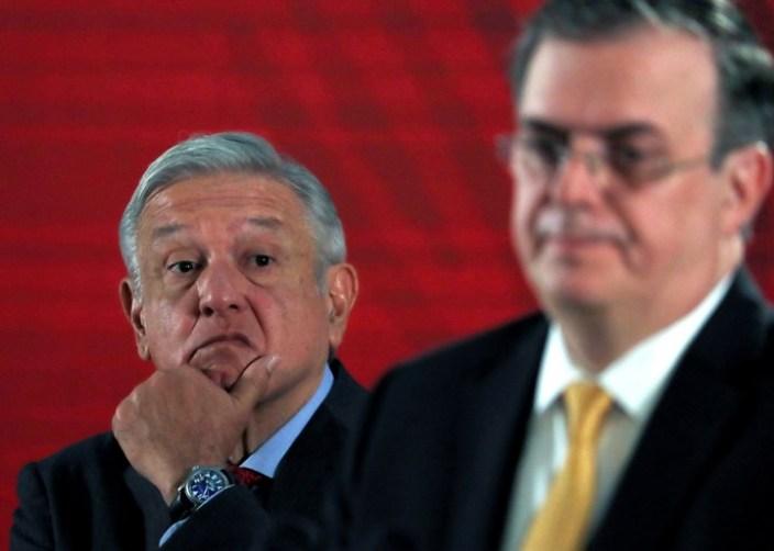 El secretario de Relaciones Exteriores de México, Marcelo Ebrard Casaubón, informó que su país ya recibió el 30 de octubre la primera partida de dosis de vacuna contra el Covid-19. Foto: Marco Ugarte / AP