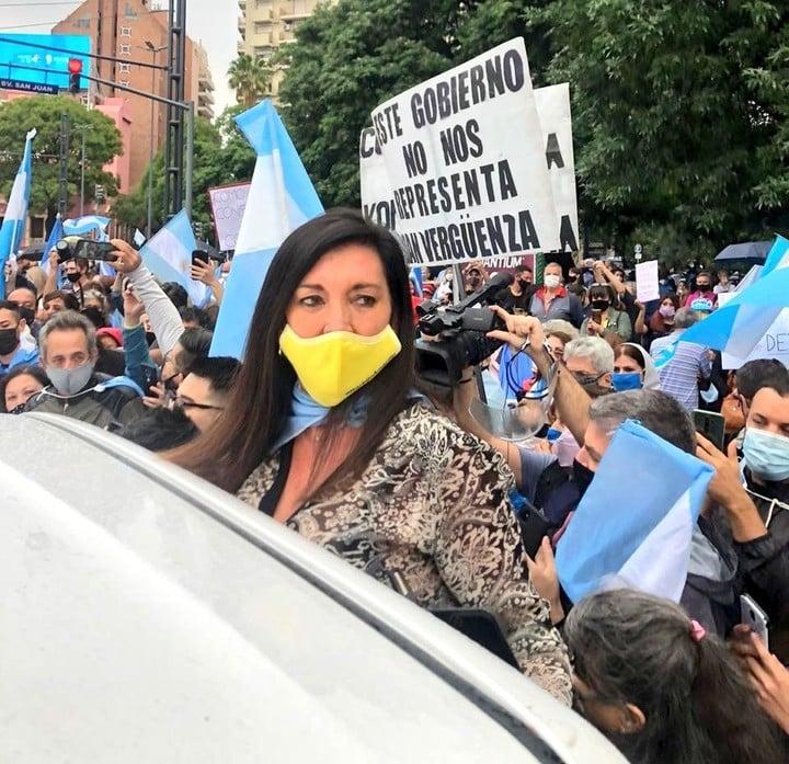 Senator Laura Rodríguez Machado (PRO-Córdoba).