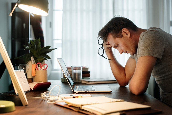 In 2019, the WHO recognized burnout as a disease.  Illustrative image Shutterstock.